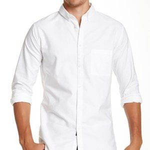 Zanerobe white BNWT oxford long dress shirt